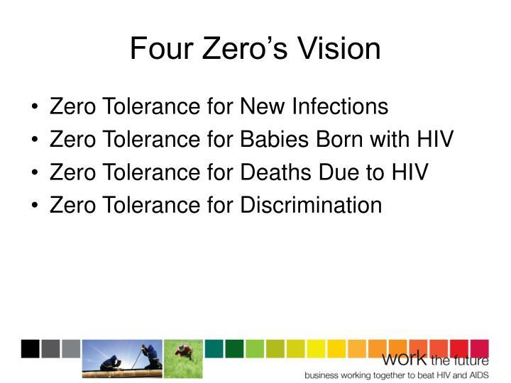 Four Zero's Vision