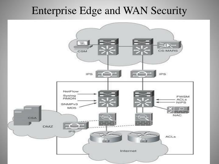 Enterprise Edge and WAN Security