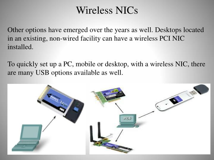 Wireless NICs