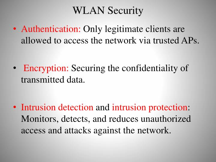WLAN Security