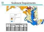 sediment impairments