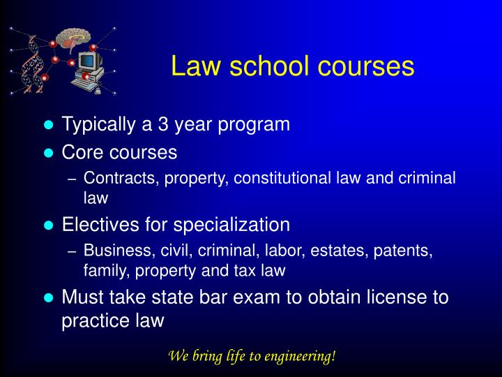 Law school courses