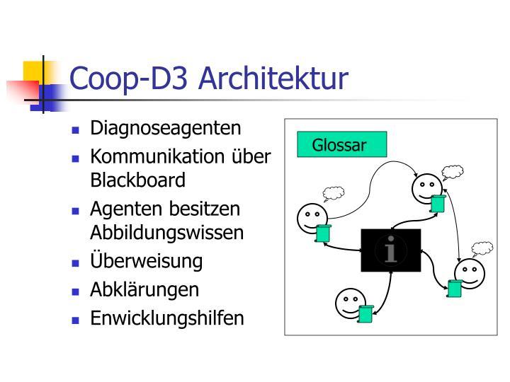 Coop-D3 Architektur