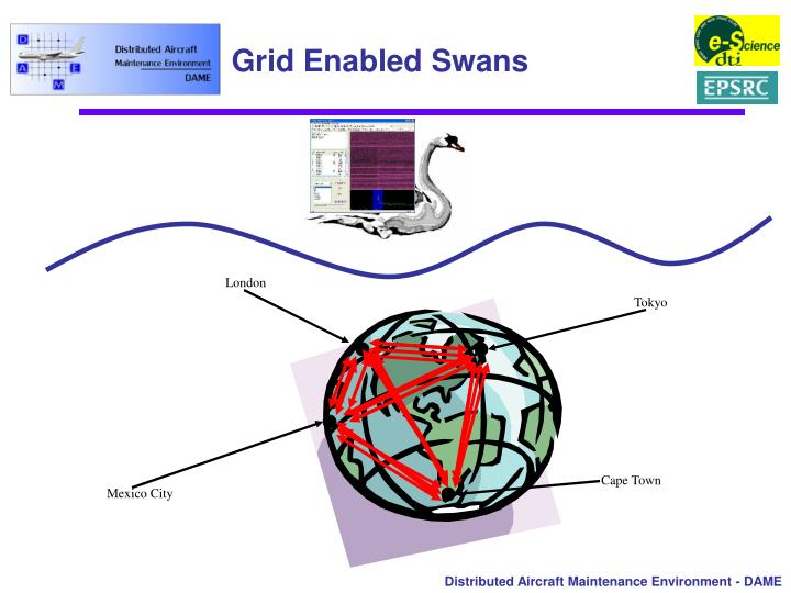 Grid Enabled Swans