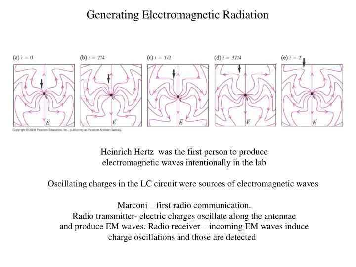 Generating Electromagnetic Radiation