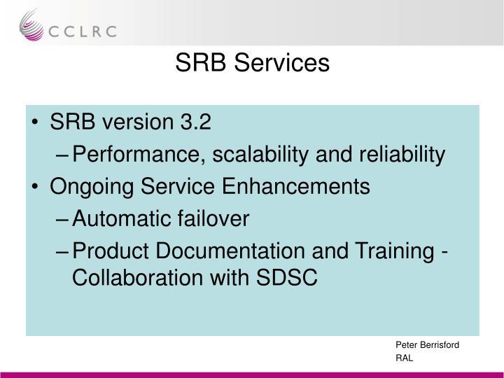 SRB Services