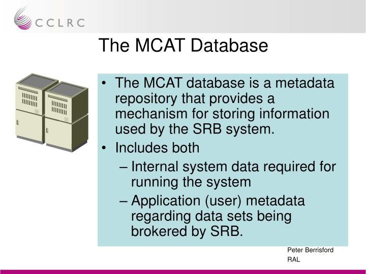 The MCAT Database