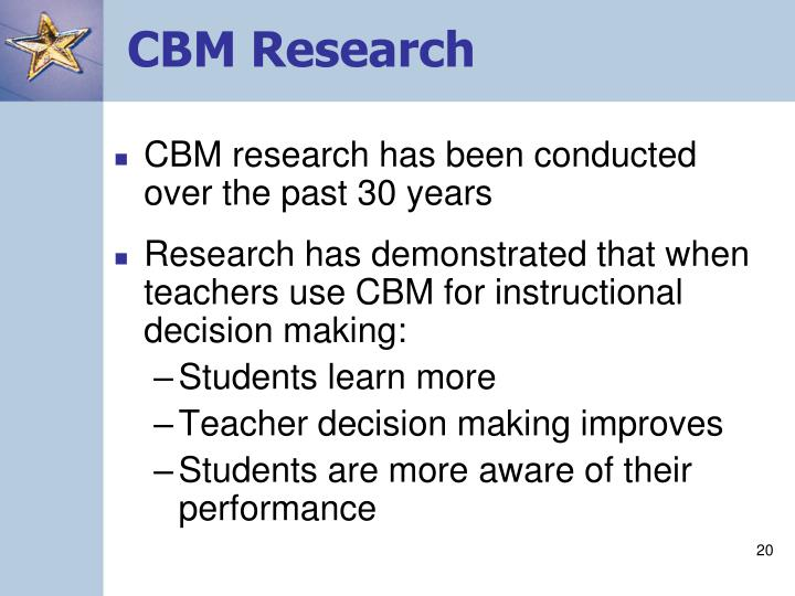CBM Research