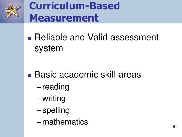 Curriculum-Based Measurement
