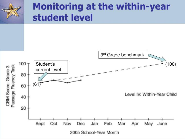 Monitoring at the within-year student level