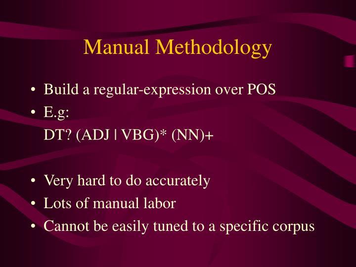 Manual Methodology