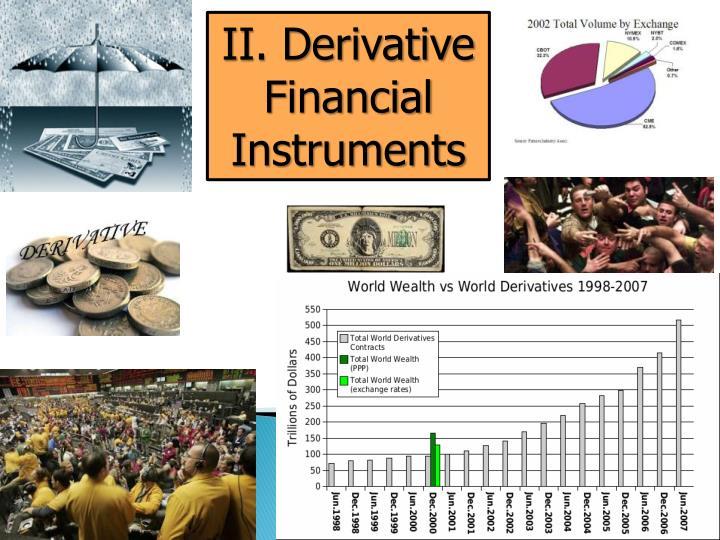II. Derivative