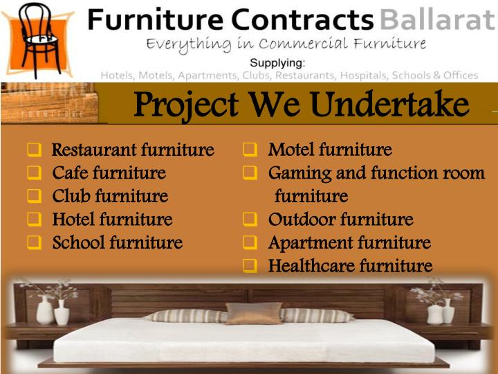 Project We Undertake