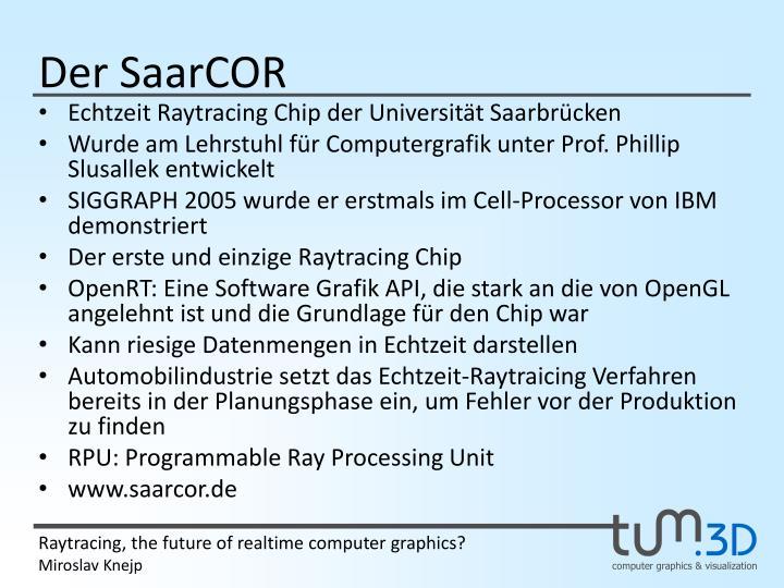 Der SaarCOR