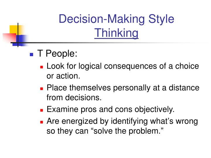 Decision-Making Style