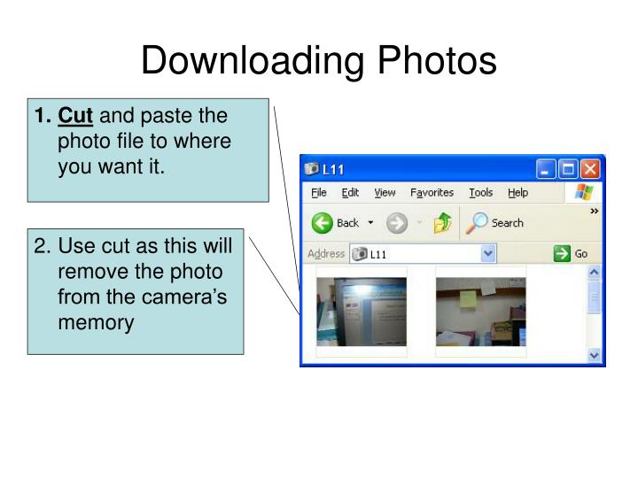 Downloading Photos