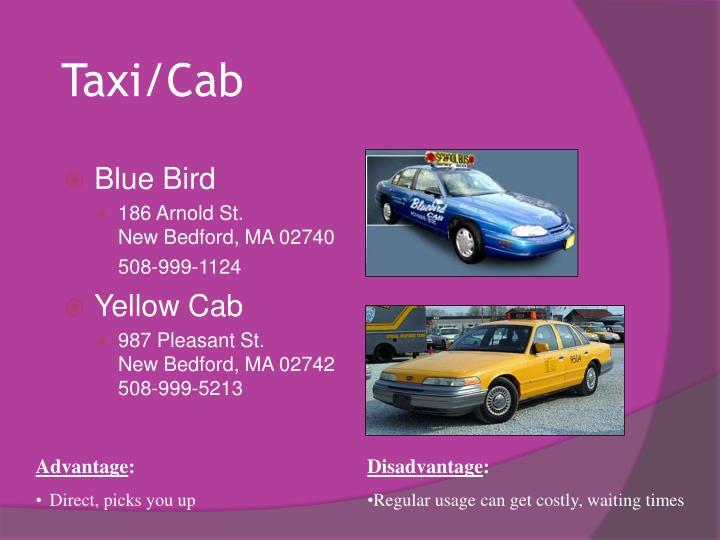 Taxi/Cab