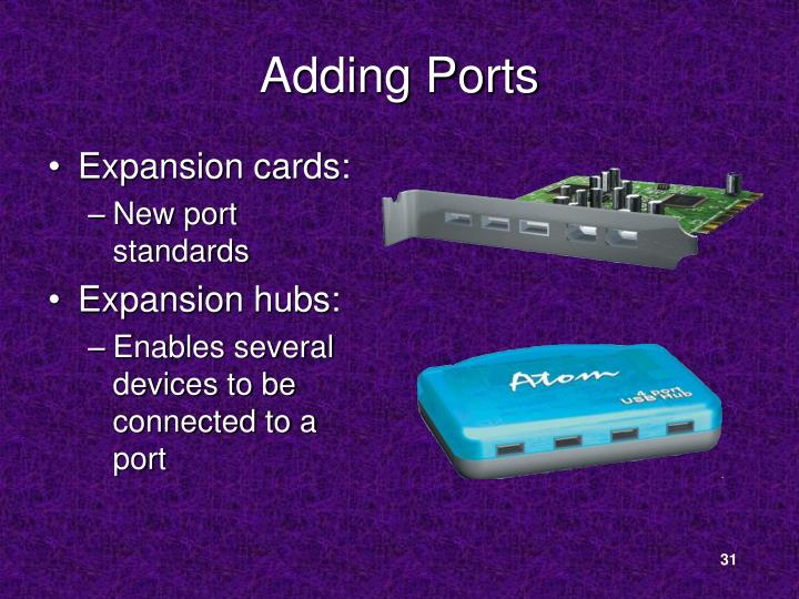 Adding Ports