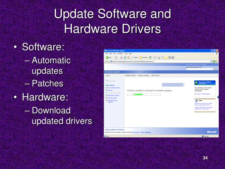 Update Software and