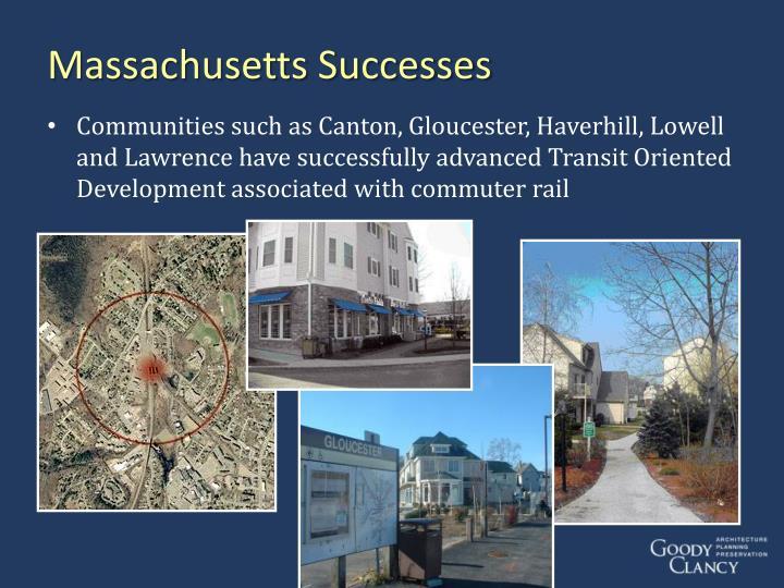 Massachusetts Successes