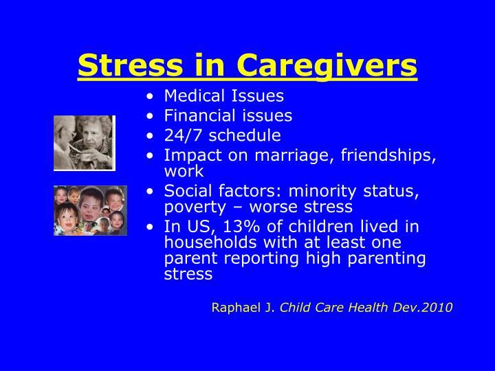 Stress in Caregivers