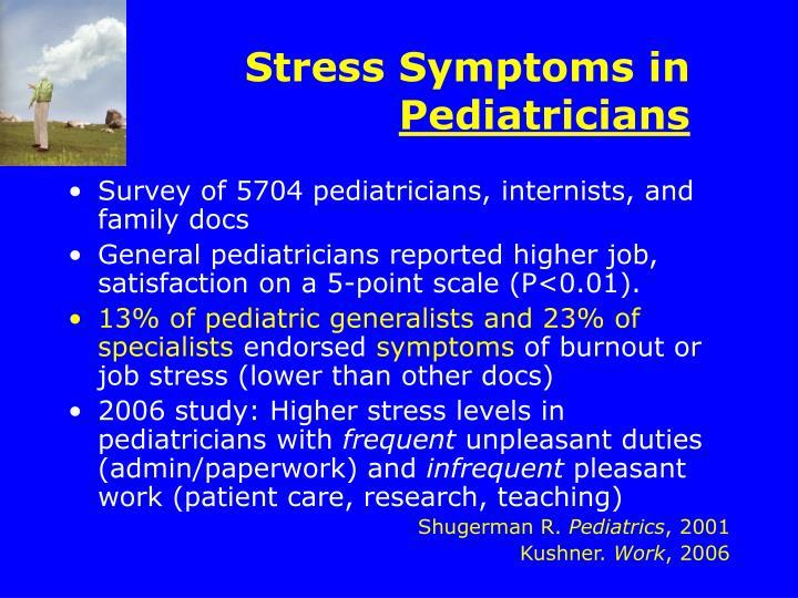 Stress Symptoms in