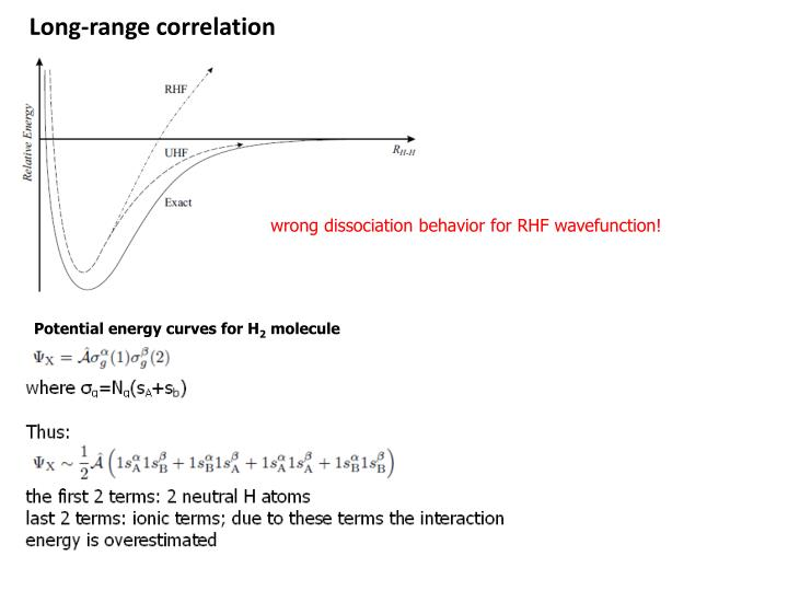 Long-range correlation