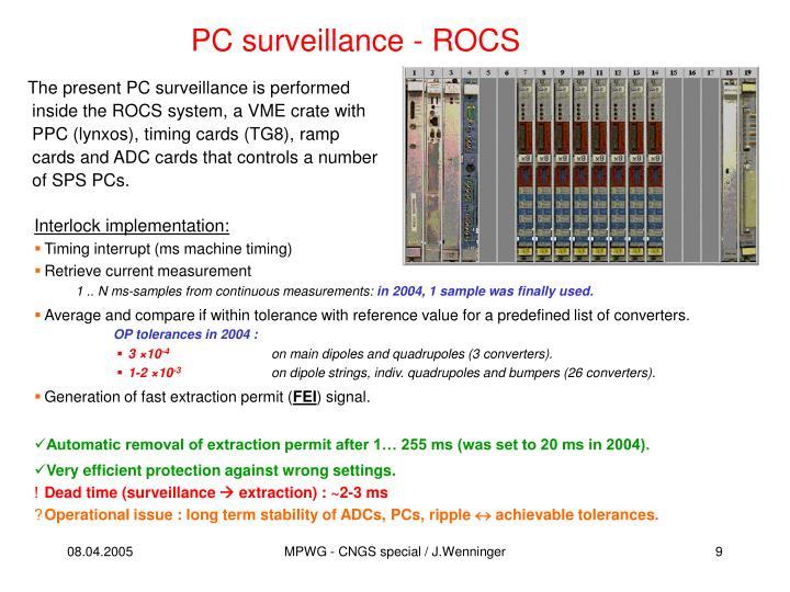 PC surveillance - ROCS