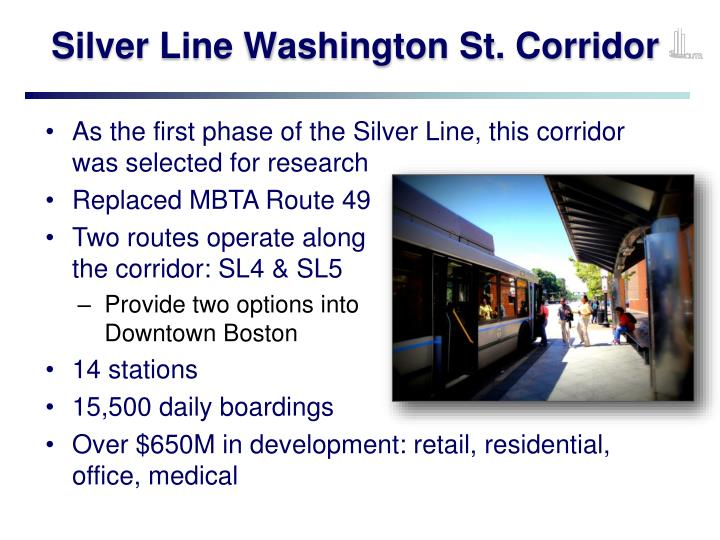 Silver Line Washington St. Corridor