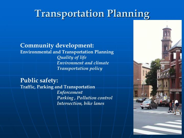 Community development: