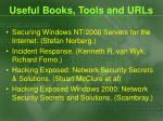 useful books tools and urls1