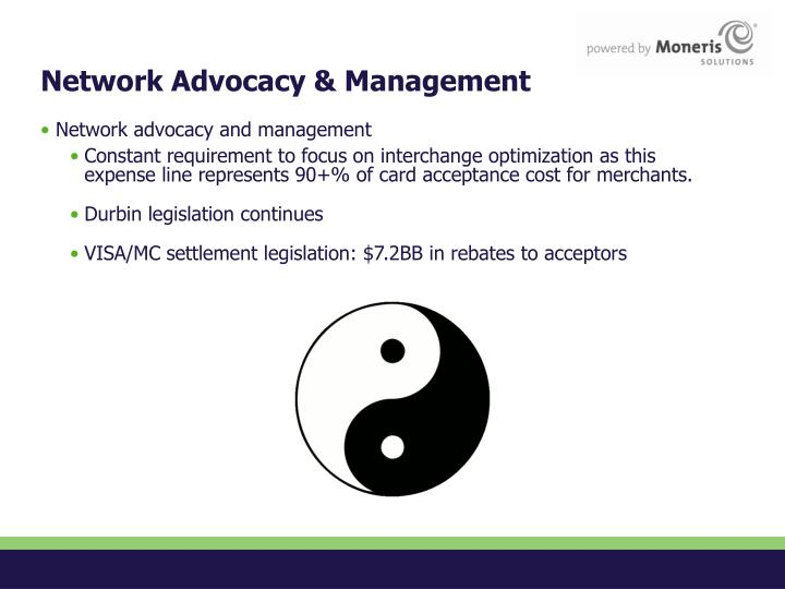 Network Advocacy & Management