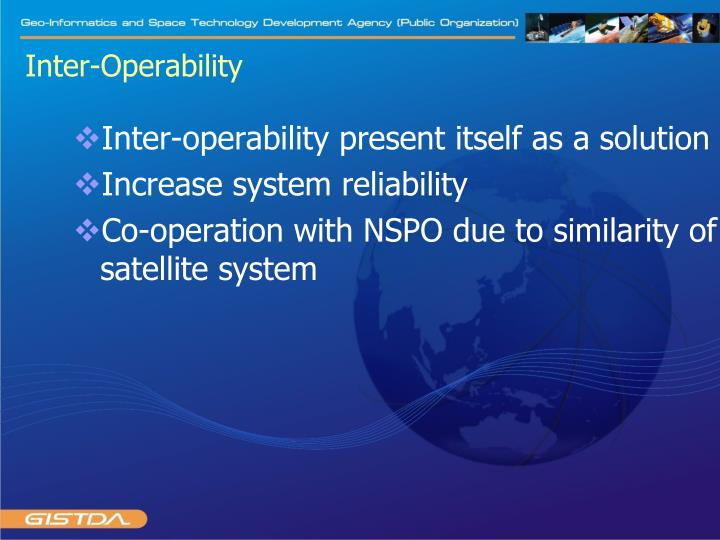 Inter-Operability