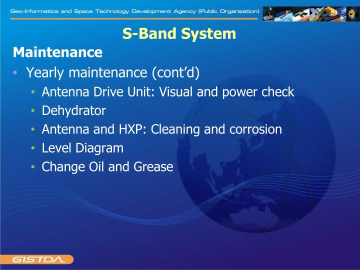 S-Band System