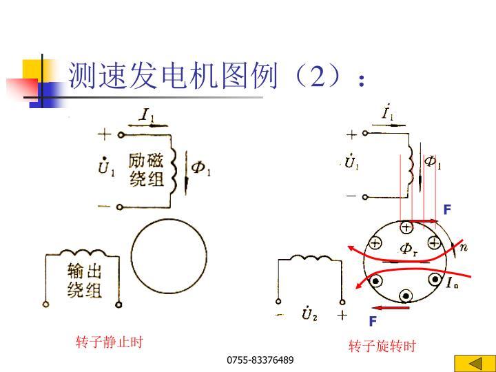 测速发电机图例(2):