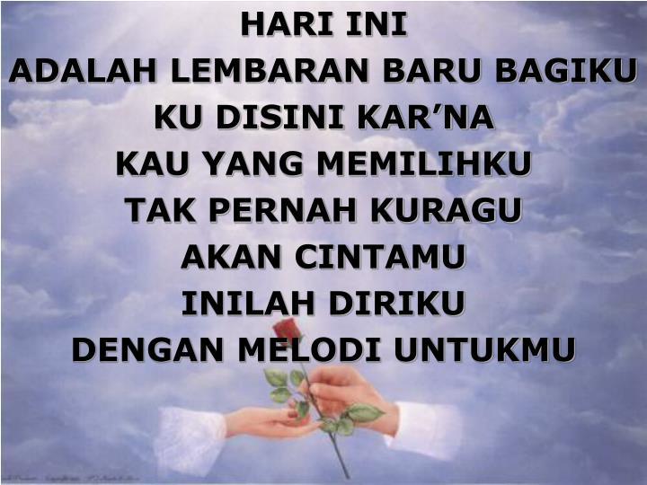 HARI INI