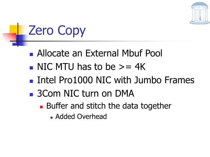 Zero Copy