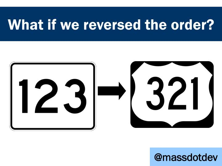 What if we reversed the order?