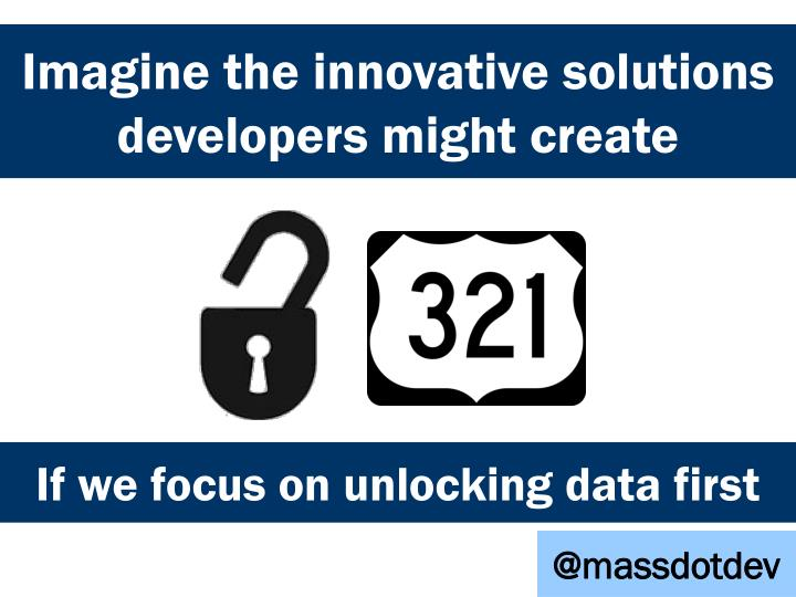 Imagine the innovative solutions developers might create