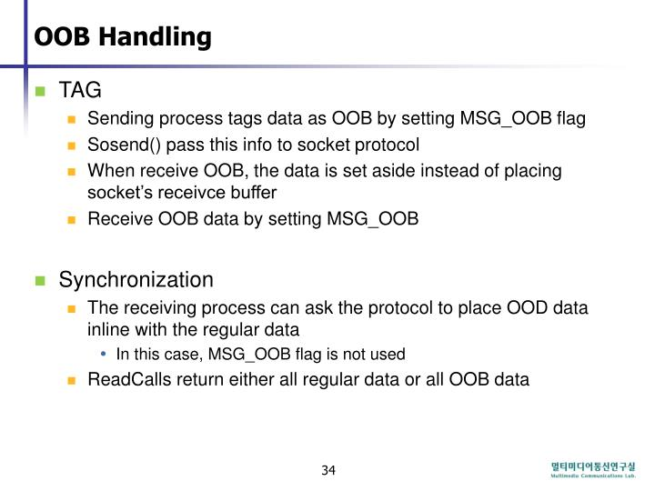 OOB Handling