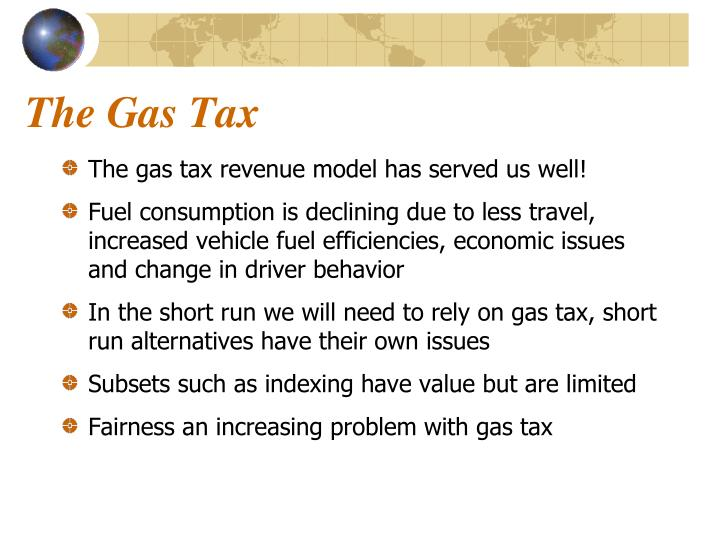 The Gas Tax