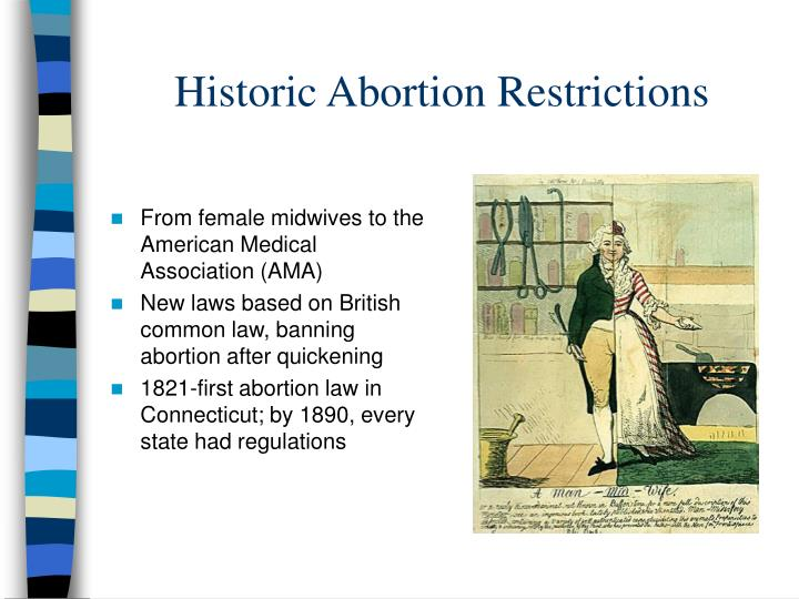 Historic Abortion Restrictions