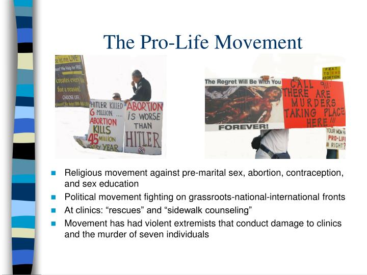 The Pro-Life Movement