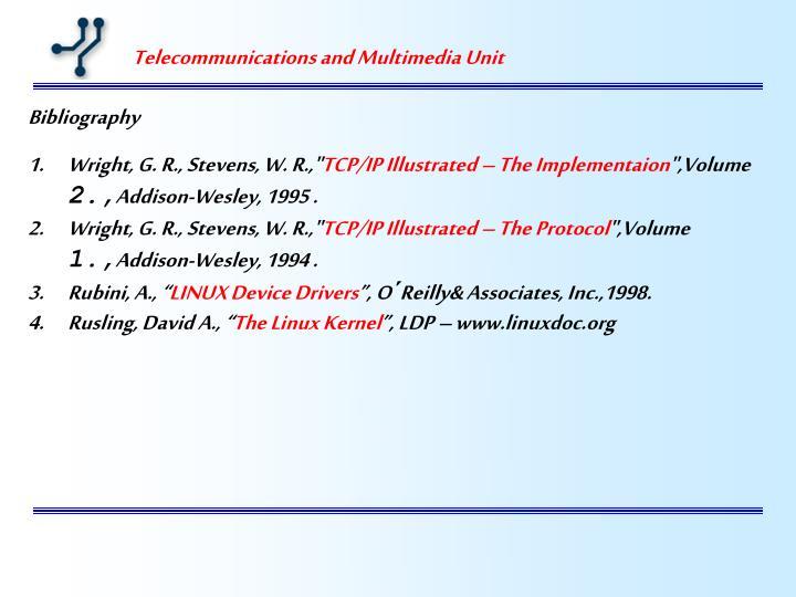 Telecommunications and Multimedia Unit
