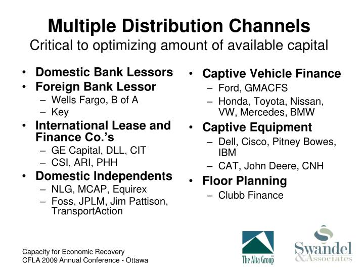 Multiple Distribution Channels