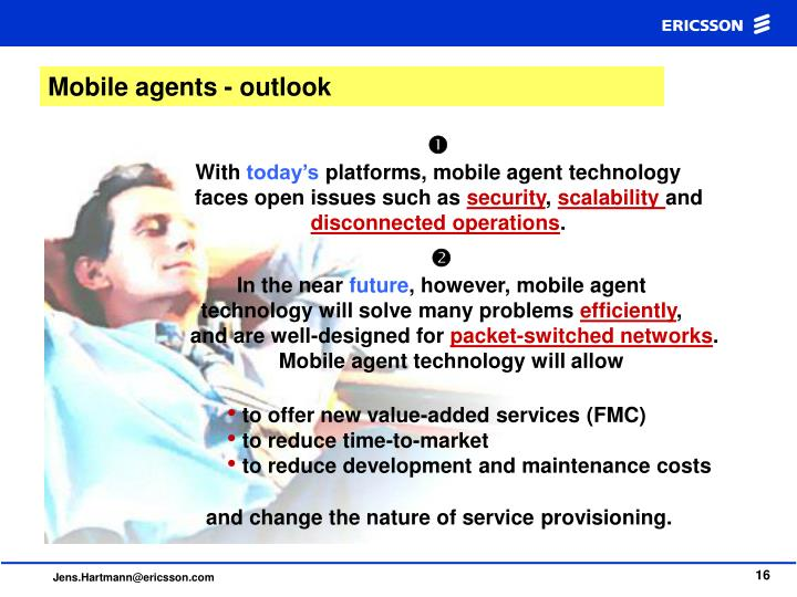 Mobile agents - outlook