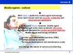 mobile agents outlook