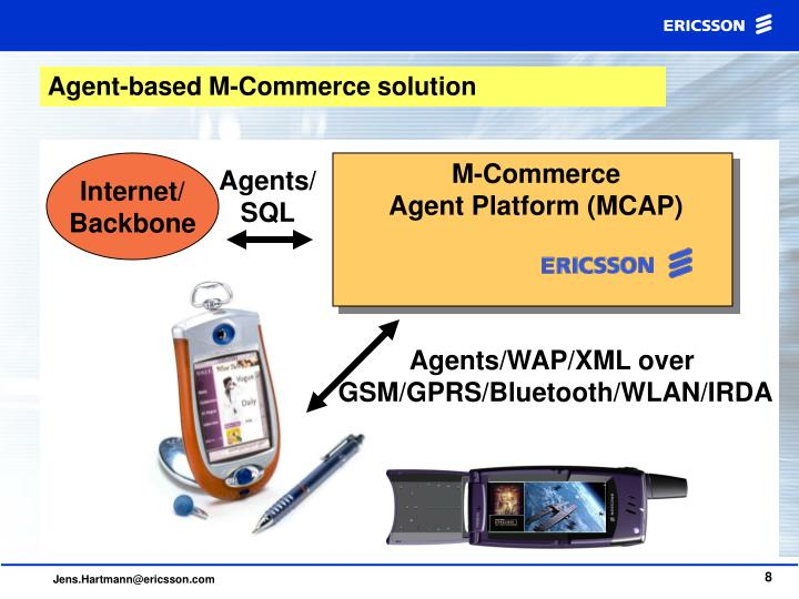 Agent-based M-Commerce solution