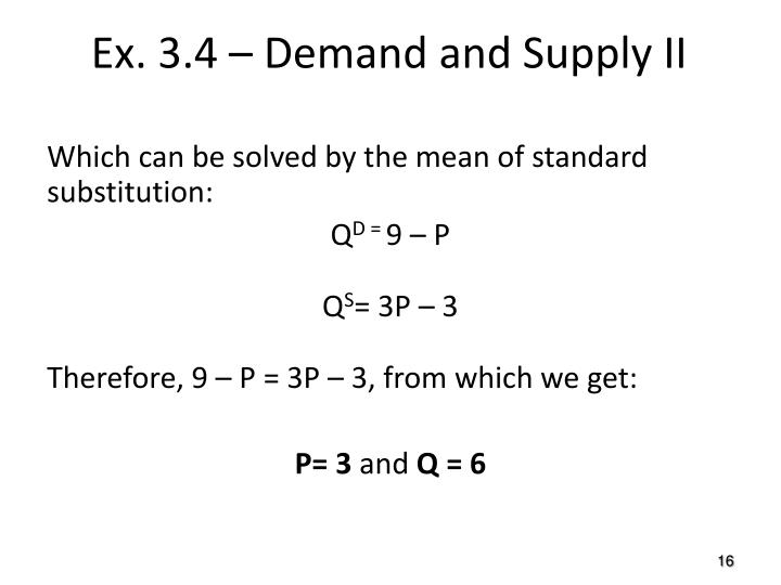 Which can be solved by the mean of standard substitution:
