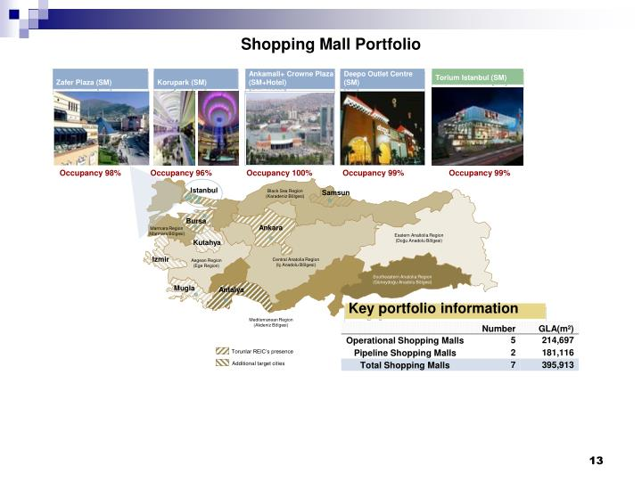 Shopping Mall Portfolio